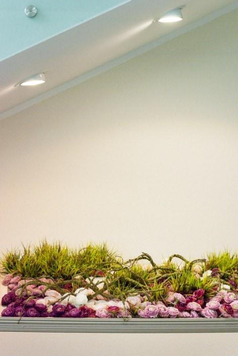 Floristinė kompozicija - interjero dekoro elementas Eglės sana