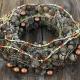 Kalėdinis vainikėlis durims ar stalui