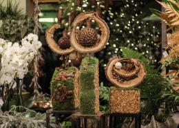2020 Kalėdos ritos gėlių salone